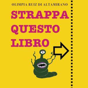 Copertina Strappa questo libro. - Libro per bambini
