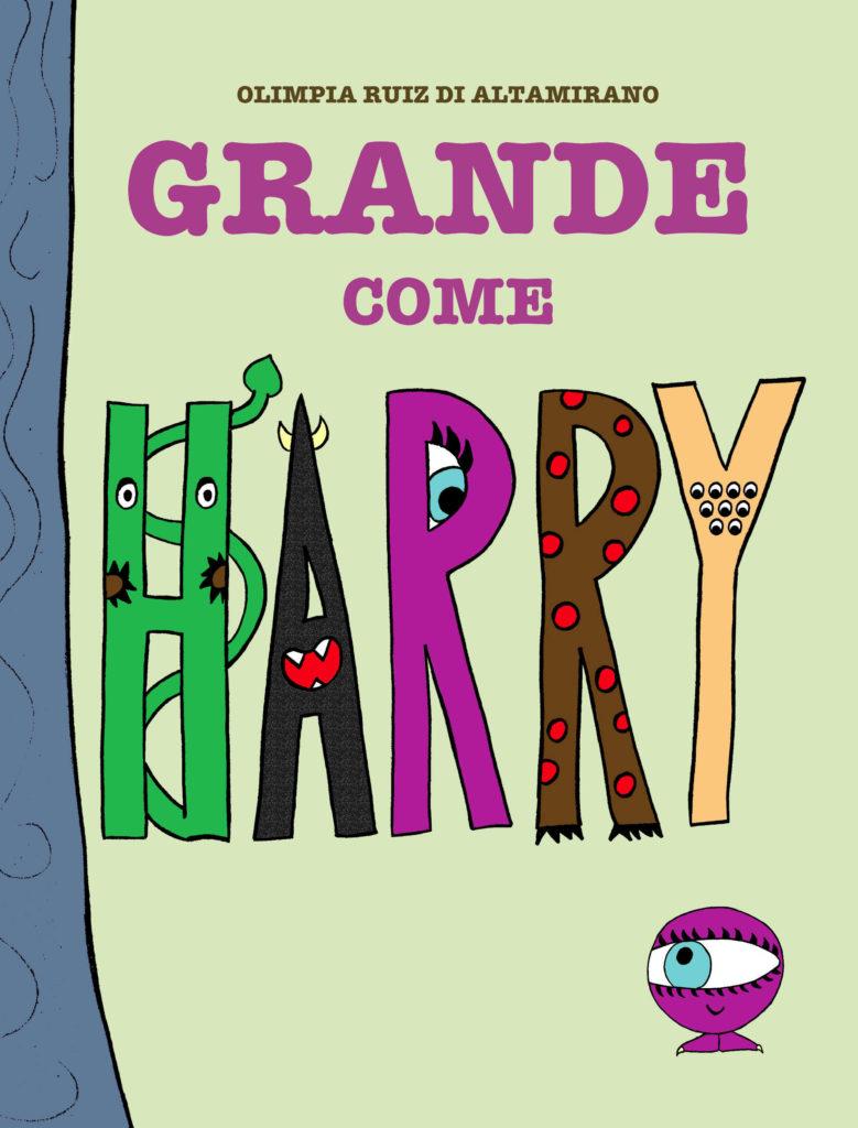 Copertina Grande come Harry - Libro per bambini