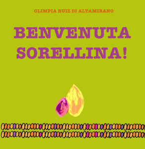 Benvenuta sorellina - Libro per bambini