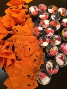Sacchetti di caramelle per Halloween