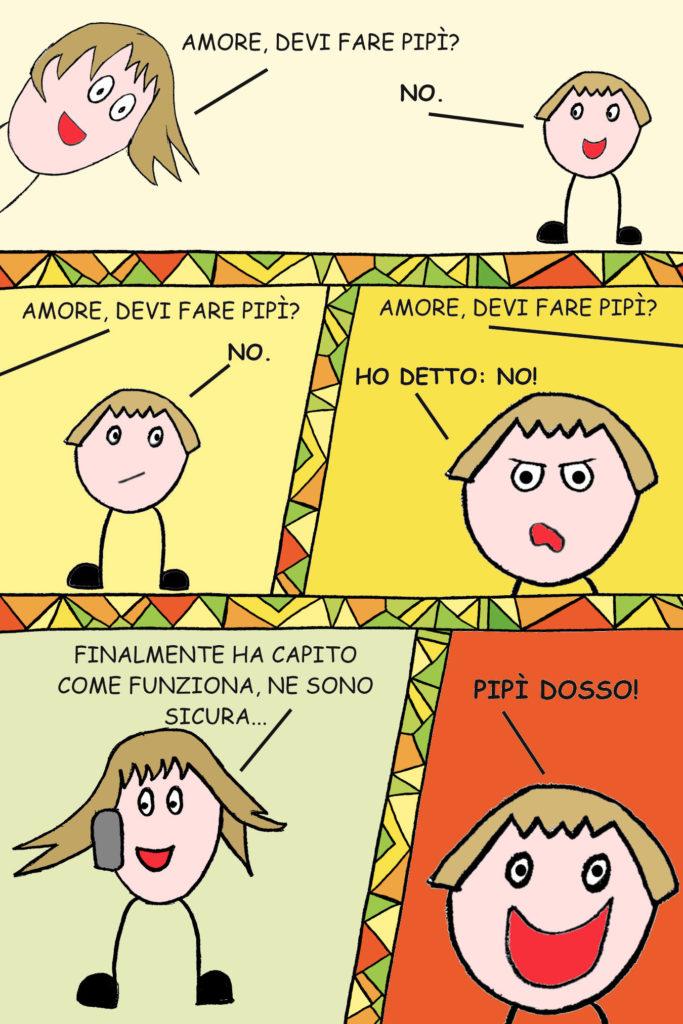 Vignette - Pipì dosso