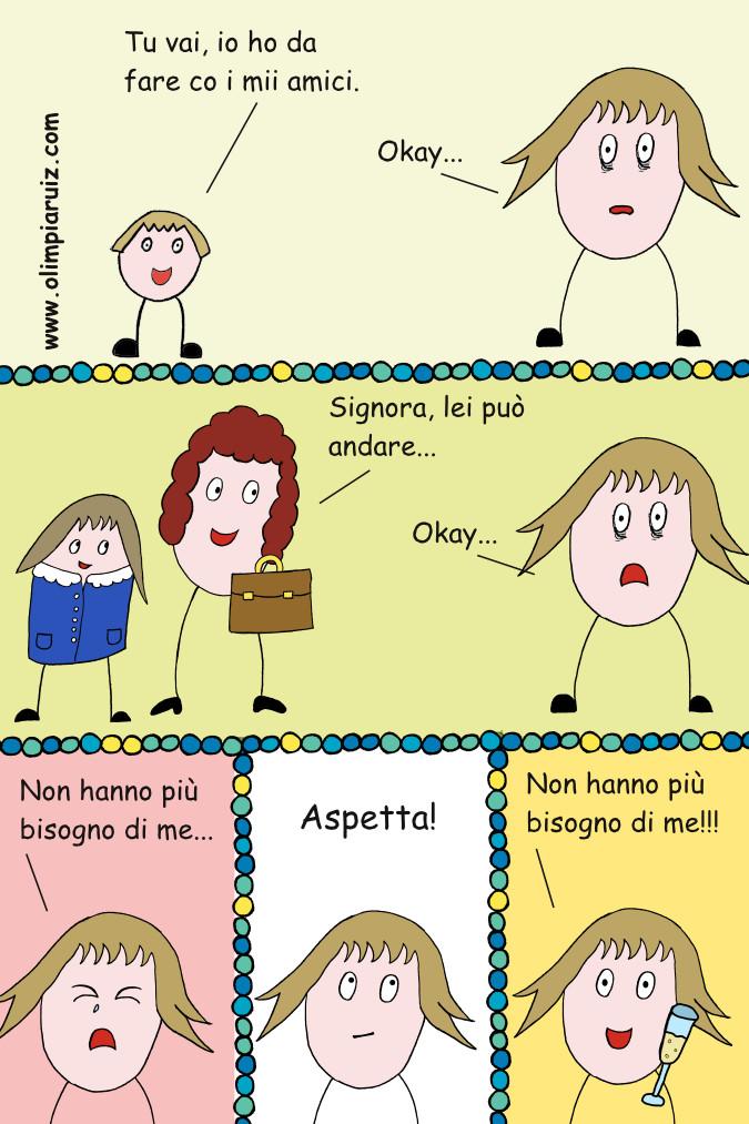 Vignette sulla vita in famiglia - Inizia la scuola